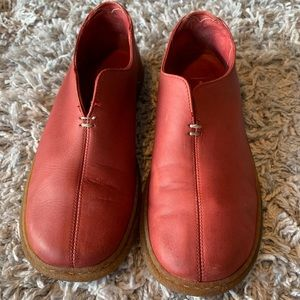 Hush Puppies Red Slip-On Shoes